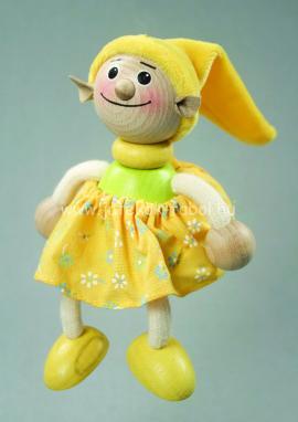 Manó lány, sárga