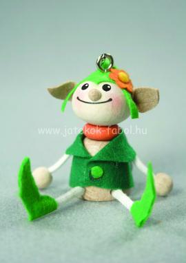 Manó fiú, zöld