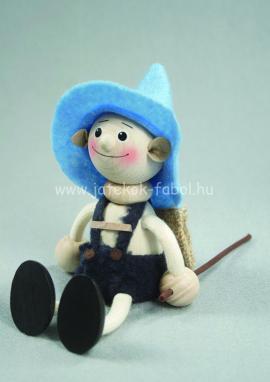 Nemzetek babája - Tiroli fiú, kék
