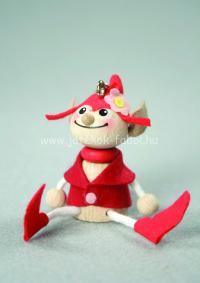 Mini manó fiú, piros