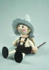 Nemzetek babája - Tiroli fiú, szürke