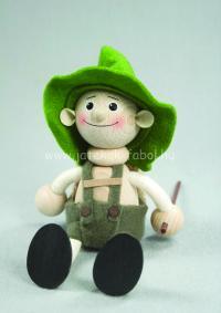 Nemzetek babája - Tiroli fiú, zöld