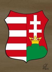 Címer - Szent koronás kiscímer